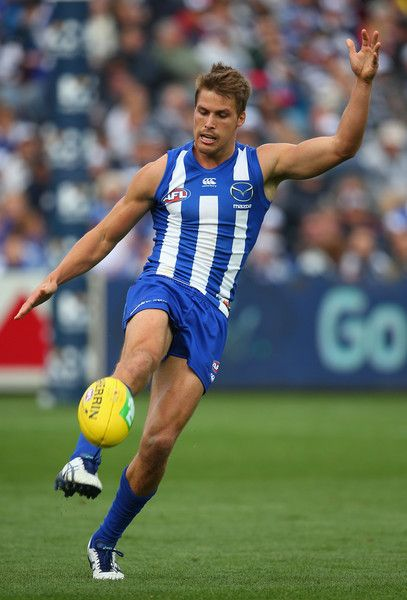 Andrew Swallow Photos: AFL Rd 4 - Geelong v North Melbourne http://footyboys.com