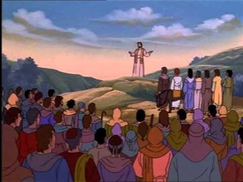 ΙΗΣΟΥΣ ΧΡΙΣΤΟΣ, Παιδικό, Γέννηση, θαύματα, παραβολές, κινούμενα σχέδια.