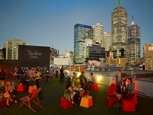 Rooftop bar Melbourne