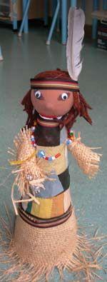 fabrication poupées indiennes