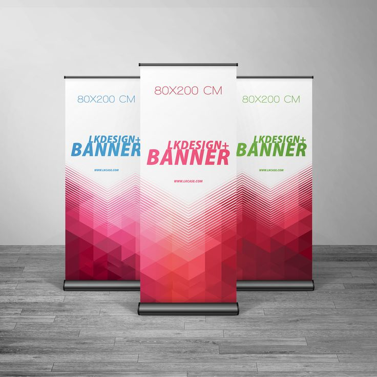 Customized Deluxe Roll Up Banner -- Professional Design Provided & Small Order Accepted. www.lkcase.com.
