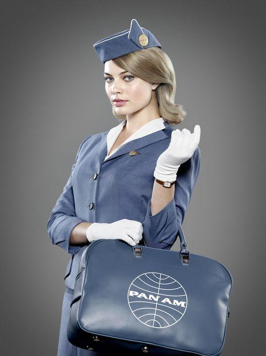 Pan Am TV Cast, Margot Robbie Stewardess Crew..!