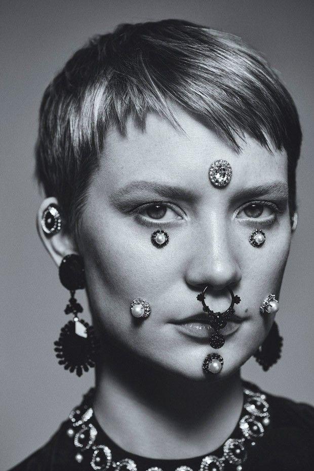 Миа Васиковска в Flaunt Magazine (Интернет-журнал ETODAY)