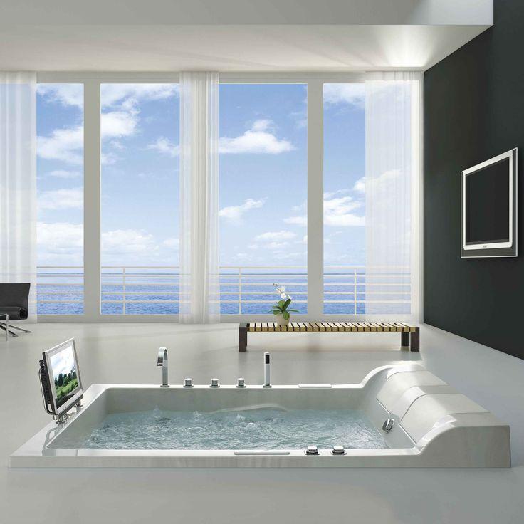the 25 best ideas about luxus badewanne on pinterest falsche holzfliesen badezimmer dachgeschoss and holzfliesen - Luxusbad Whirlpool