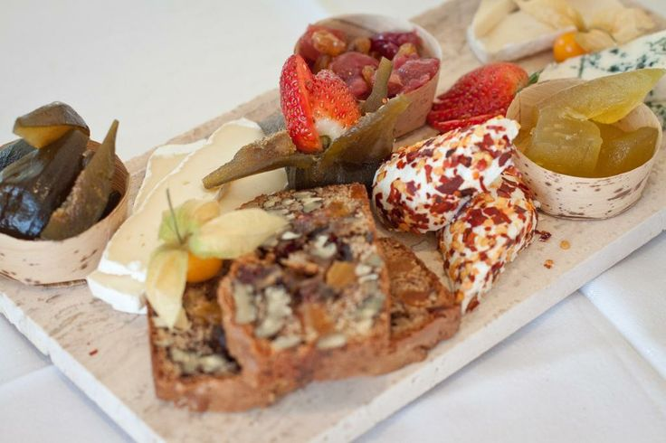 Dish of the Day: Local cheese board with homemade preserves & warm nut loaf @ Lagoon Beach Hotel