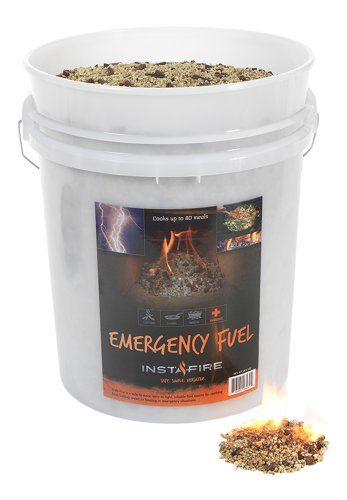 InstaFire EcoFriendly Granulated Bulk Emergency Fuel 5Gallon Bucket * More info could be found at the image url.