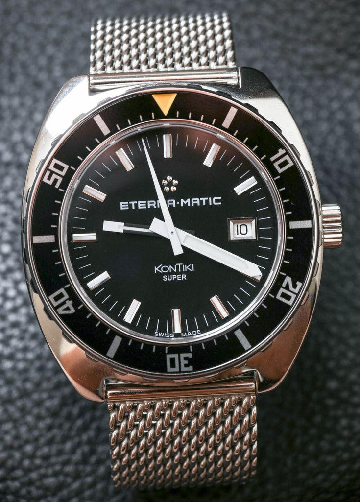 Eterna Heritage Super KonTiki 1973 Limited Edition 'Team aBlogtoWatch' Watch Review Wrist Time Reviews