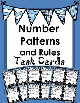 Number Patterns and Rules