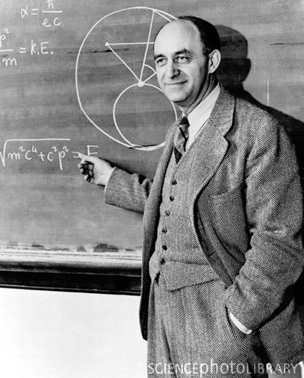 Enrico Fermi was an Italian-born, naturalized American physicist particularly known for his work on the development of the first nuclear reactor, Chicago Pile-1.