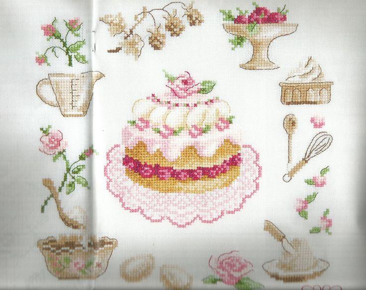 Heerlijke taart - DMC