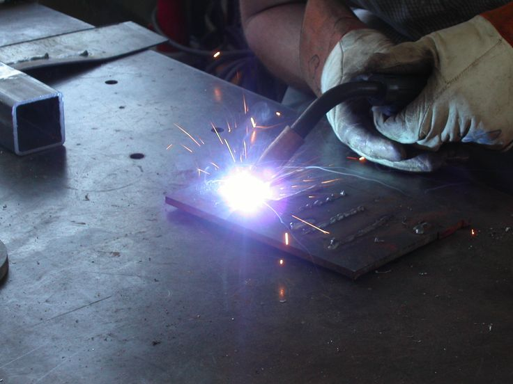 This is a basic guide on how to weld using a metal inert gas (MIG) welder. MIG welding is the awesome process of using electricity to melt and join pieces ...