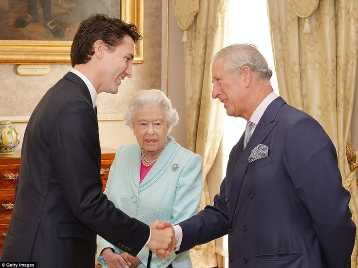 380 best trudeau family images on pinterest justin trudeau greetings during her visit the queen met with canadian prime minister justin trudeau and said m4hsunfo