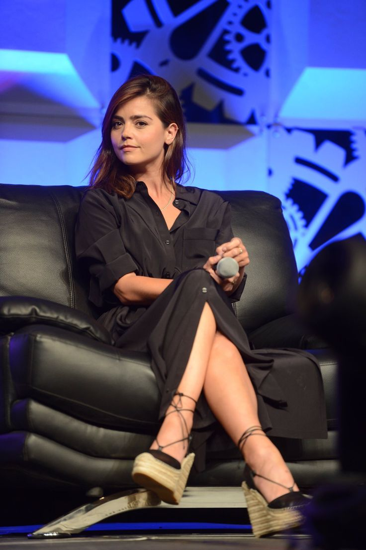 Jenna Coleman at the Women of Doctor Who panel, Denver Comic Con, June 19, 2016.