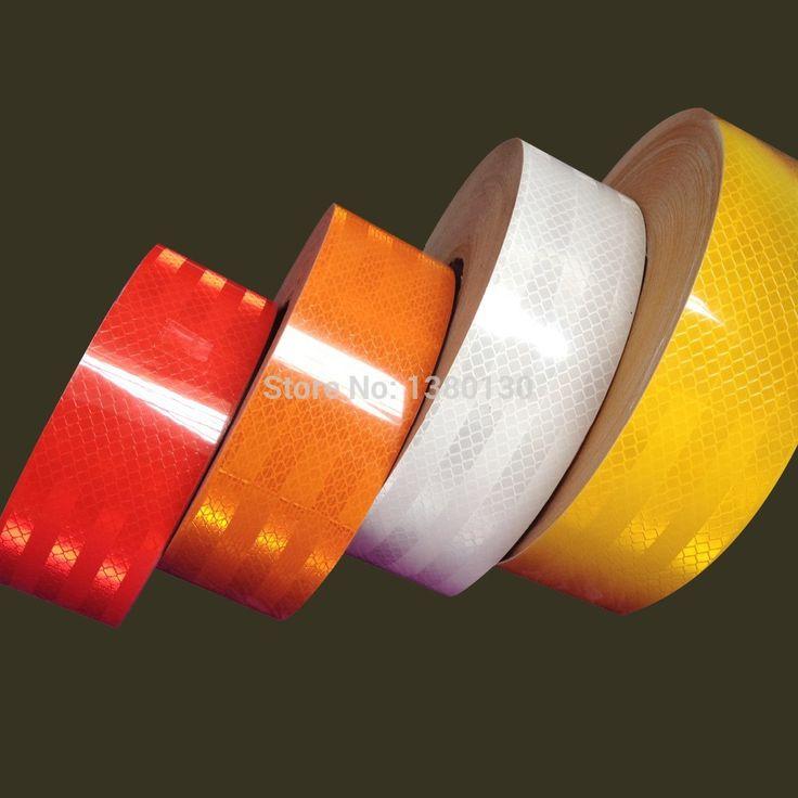 5 센치메터 x 2 메터 DIY 형광 반사 스티커 자동차 발광 스트립 자동차 및 오토바이 장식 스티커 무료 배송