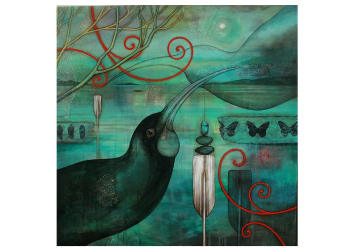 Kathryn Furniss NZ Artist - Huia