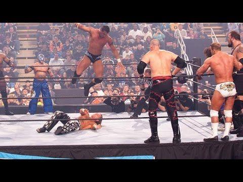 Team Randy Orton Vs. Team Shawn Michaels WWE Survivor Series 2005 Full M...