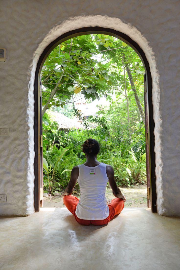 Yoga und Ayurveda - die perfekten Orte dafür finden Sie auf Sri Lanka; hier im Secret Garden Resort in Unawatuna - klein, besonders und unglaublich gemütlich