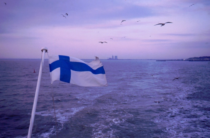 reminds me of crossing the sea from Finland to Sweden  :)