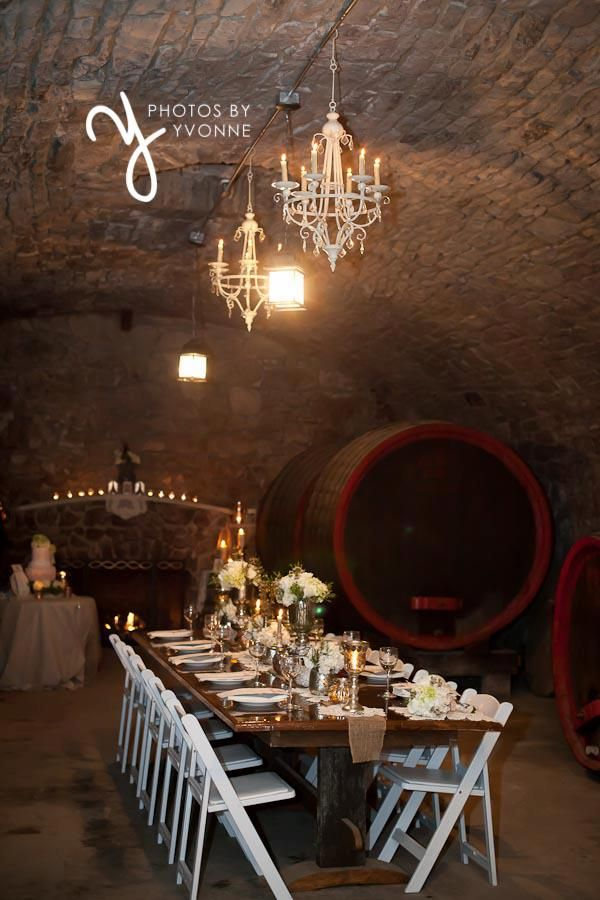 Have Your Reception Vintage Style In A Beautiful Historic Wine Cellar From The 1870s