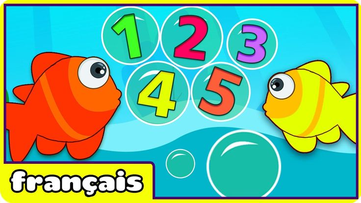 Learn Numbers in French - Numéro Chanson: 12345 Once I Caught A Fish Ali...
