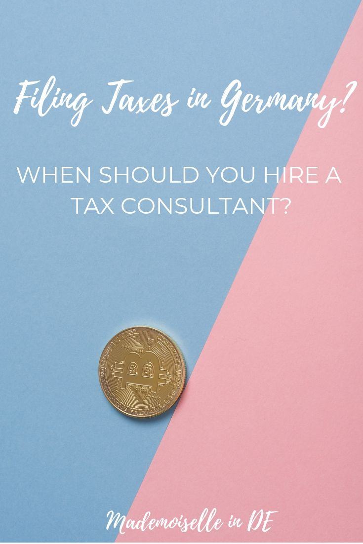 What Is The Cost Of A Steuerberater In Germany What Are The Alternatives Germany Expat Filing Taxes