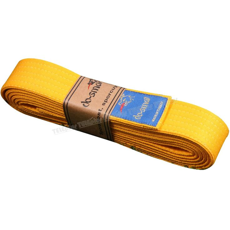 Do-Smai Çift Dolama Sarı Kuşak - 230gr/m² pamuk+polyester gabardinden dış yüzeye sahiptir. İç dolgusunda (±%3) 450 gr/m² ham bez kullanılmaktadır.  Genişlik: 4,2 cm.   Uzunluk: 300 cm. - Price : TL17.00. Buy now at http://www.teleplus.com.tr/index.php/do-smai-cift-dolama-sari-kusak.html