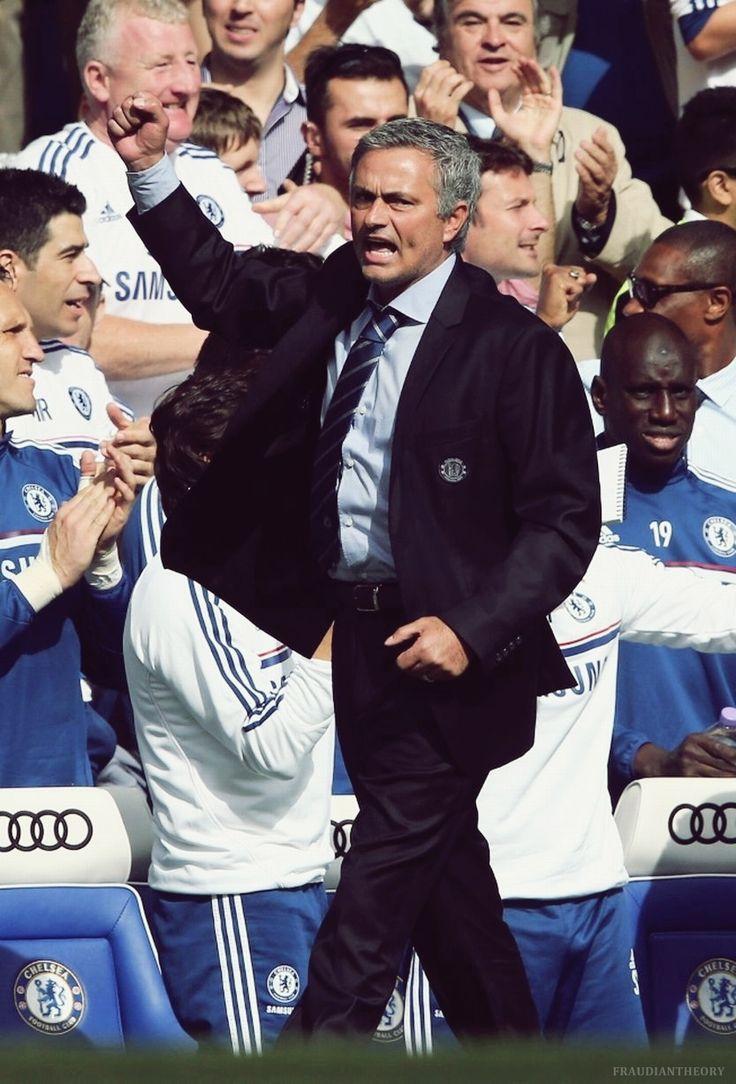 He's back.  #JoseMourinho #Chelsea FC #Football