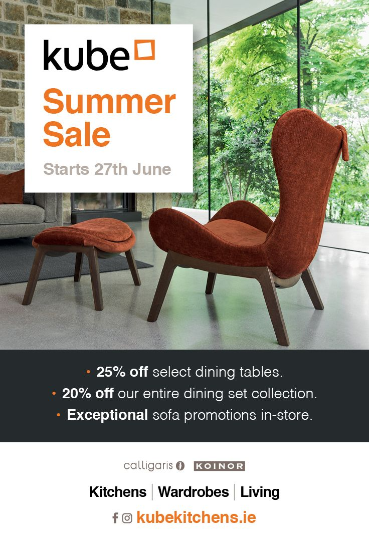 Kube Summer Sale Starts June 27th 2018 Offers On Dining Furniture