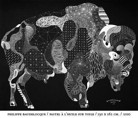 The Chalk Work of Philippe Baudelocque: Baudelocque_toile_2.jpg