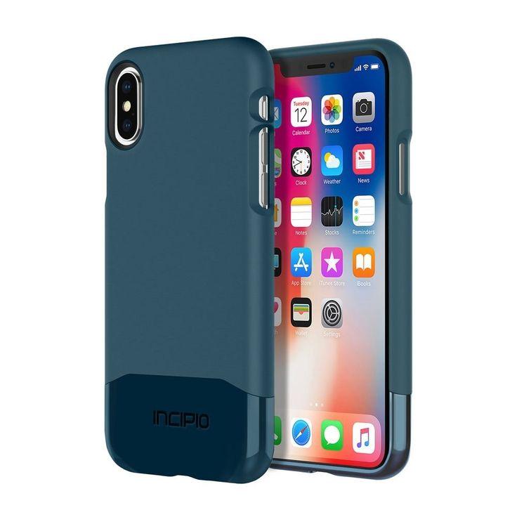 Incipio edge chrome case for apple iphone x navy apple