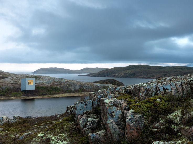 Bridge Studio Deep Bay in Fogo Island by Newfoundland Saunders Architecture   Yellowtrace