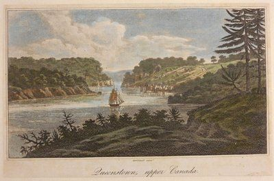 Queenston, Upper Canada. By William Strickland