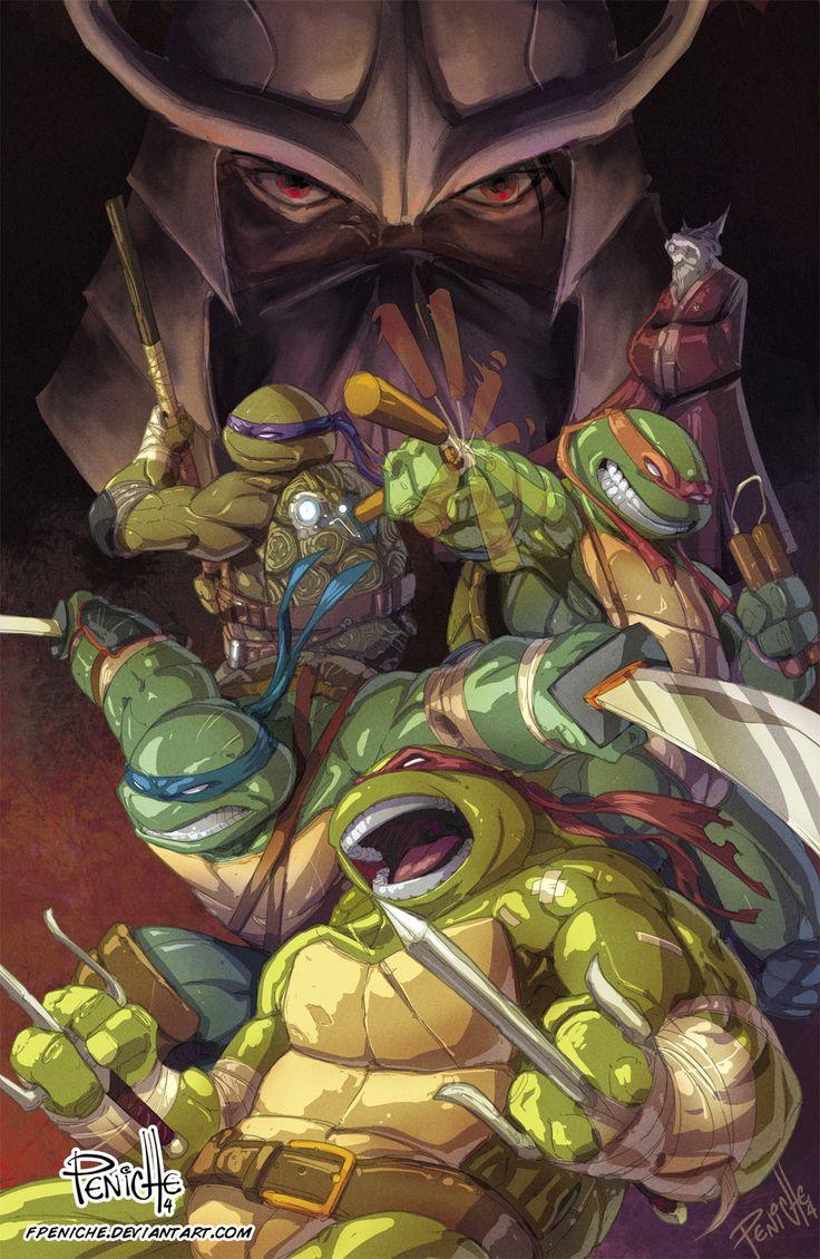Ninja Turtle Nails: 1000+ Images About Teenage Mutant Ninja Turtles On