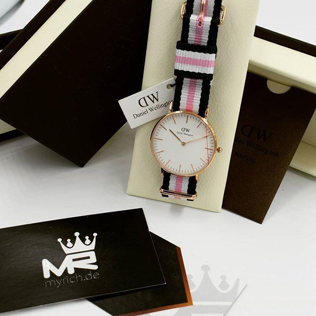 Daniel Wellington DW00100034 | @MyRich.de #danielwellington #danielwellingtonwatch #dw #dwblack #original #official #watch #style #uhr #trend #dw00100034 #0506dw #lifestyle #2017 #womensfashion #luxus #juwelry #lady #classicwatch #fashion #rosewatch #nylon #special #tricolor #rosegold #accessories #crystal