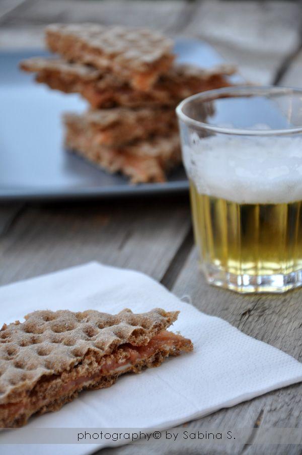 Due bionde in cucina: Pane svedese con salmone affumicato