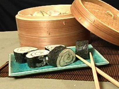 Sushi soap! Combine skin nourishing ingredients with a natural melt-and-pour soap to create one-of-a-kind, sushi-shaped soap.