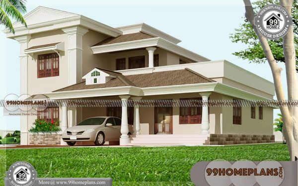 Modern House Shapes 55 Two Storey Residential House Plans Online Kerala House Design Dream House Exterior Architect House