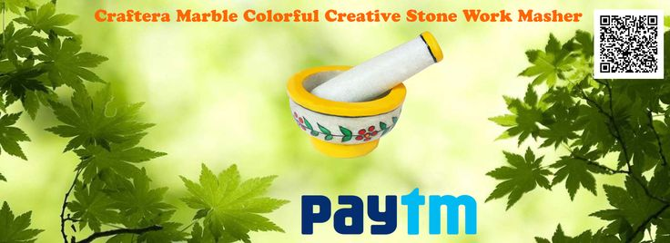 Craftera Marble Colorful Creative Stone Work Masher  Colorful Handmade Creative Work Masher Is Engraved Out Of White Pure Marble Stone. This Graceful Product Is A Remarkable Addition   For Any Kitchen And Aids You To Crush Spices Easily. Bring This Product To Your Home Or Use It For Gifting It Your Friends Or   Relatives As Per The Occasion. This Set Of Marble And Pestle Measures A Diameter Of 10 Cm And Length 6.5 Cm . Also, The Pestle   Measures 11 Cm In Length And 3.5 Cm Width…