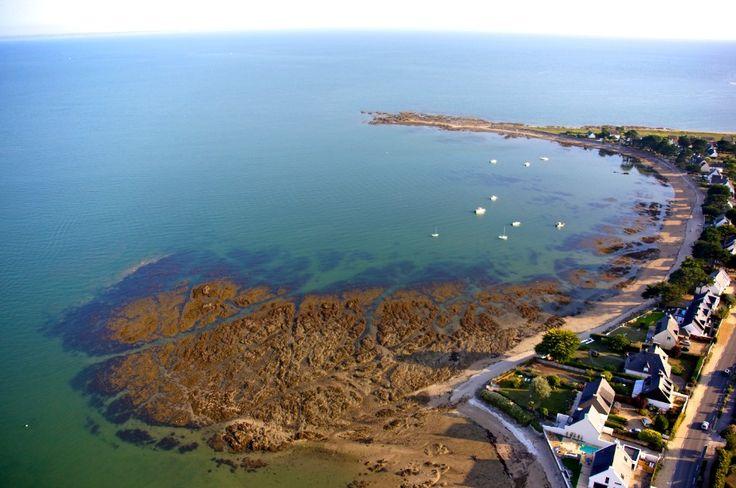 Pointe de Kervoyal à Damgan (Morbihan-Bretagne)