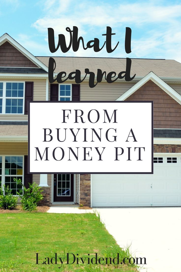 What I learned from buying a money pit house....  http://ladydividend.com/housing-money-pit/  #home #realestate #moneypit