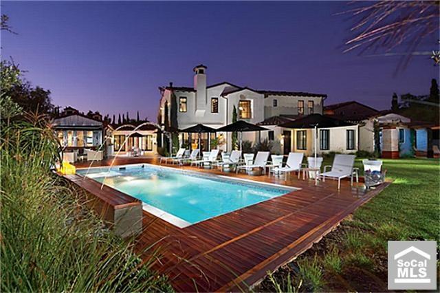 40 best spanish revival homes images on pinterest for Southern california custom home builders