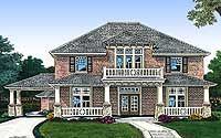 Plan W48340FM: Corner Lot, Southern, Traditional House Plans & Home Designs