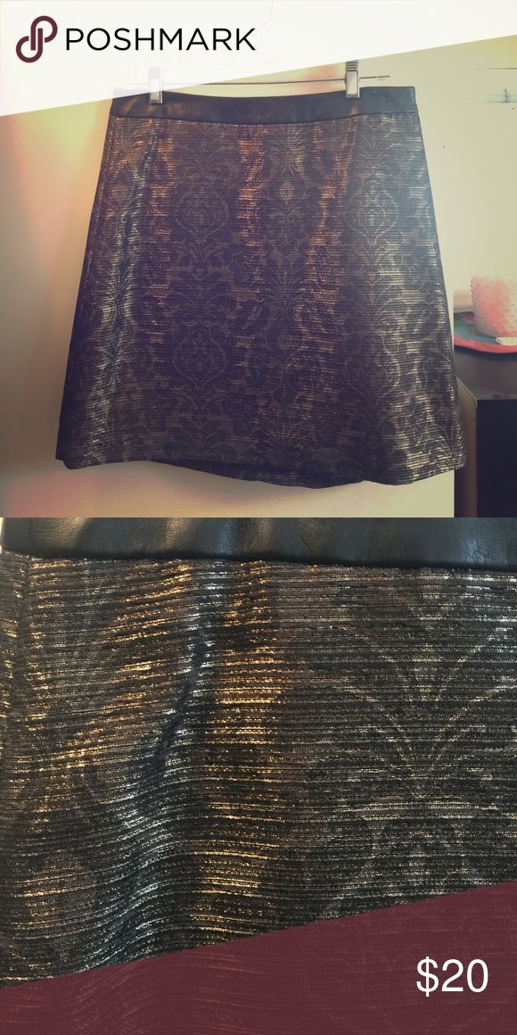 Nice going out skirt! Metallic skirt The Limited Dresses Mini