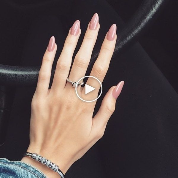 47 Natural Classy Acrylic Almond Nail Designs For Summer 2019 Almond Nails Designs Nail Designs Summer Almond Nails