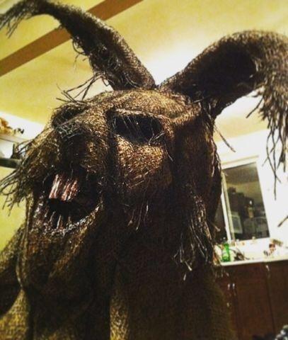 terrifying handmade burlap horror masks art collectibles winnipeg kijiji - Creepy Masks For Halloween