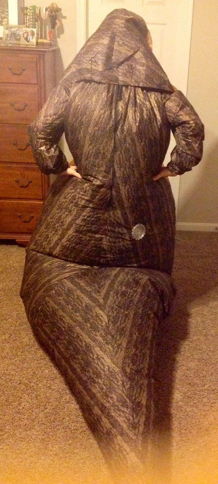 Jabba the Hutt Costume ( Back )