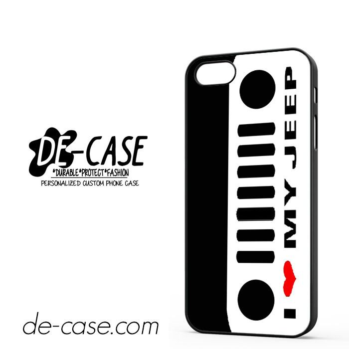 I Love My Jeep DEAL-5473 Apple Phonecase Cover For Iphone 5 / Iphone 5S