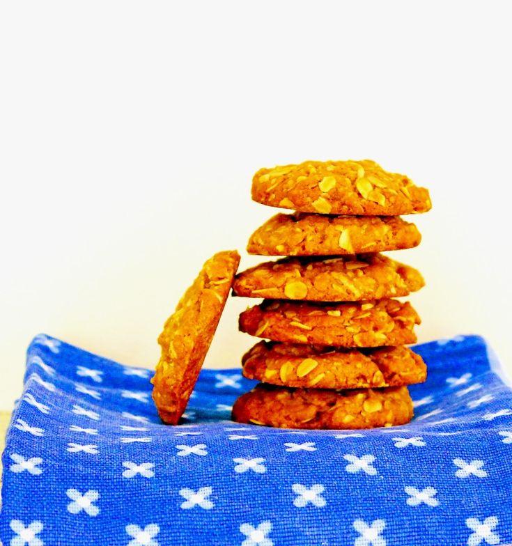 Австралийское печенье Анзак: Рецепт этой выпечки имеет вековую историю и берет начало со времен Первой мировой войны, когда был создан Австралийский и Новозеландский