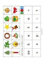 Mini Loco Kerst - Welke letter of klank is weg?