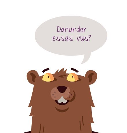 Nr. 16 Discurrer rumantsch - Romanisch reden #100Dinge #Sommer